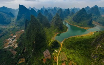 Guilin and Lijiang River National Park,китай