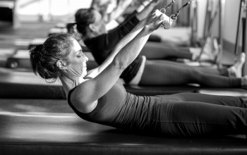 workout,Pilates,class,black and white