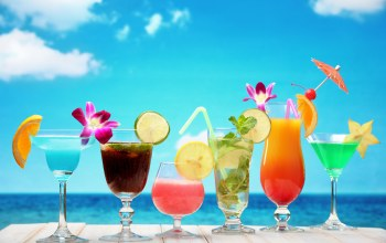summer,tropical,коктейль,drink,fruit,paradise,фрукты,cocktail,beach
