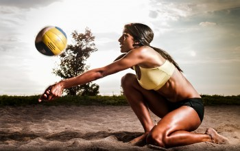 pose,volleyball,sand,Ball