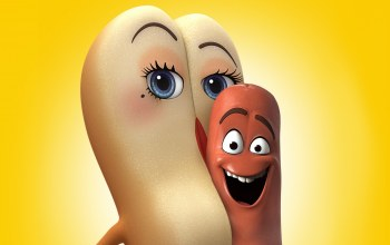 hot dog,sausage party,smile,wallpaper,bread,film,sausage,eyes,mouth,official wallpaper,food,hd,movie,cinema,animated film