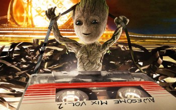 cinema,Guardian of the galaxy,space,Guardian of the galaxy vol.2,Baby Groot,groot,Empire Magazine Cover,movie,film