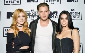 Кэтрин макнамара,Эмерод Тубия,Сумеречные охотники,Shadowhunters,Dominic Sherwood,Jace Wayland,Emeraude Toubia,Isabelle Lightwood,Clary Fray,Доминик Шервуд,katherine mcnamara