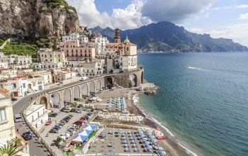 побережье,Atrani,beach,view,italy,europe,salerno,amalfi coast,Cityscape,travel