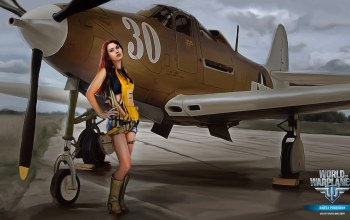 bigworld,arcade plane,аркада,aviation,mmo,persha studia,Nikita bolyakov,wargaming.net,Самолёт,ножки,World of warplanes,wowp,girl,мир самолетов