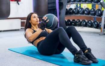 abs,brunette,Ball,workout