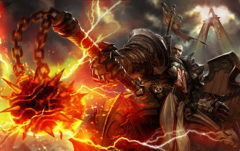 diablo 3: reaper of souls,morgenstern,крестоносец,diablo 3,reaper of souls