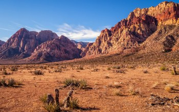 dry,desert,rocks,nevada,red rock canyon,sunny,sky,mountains