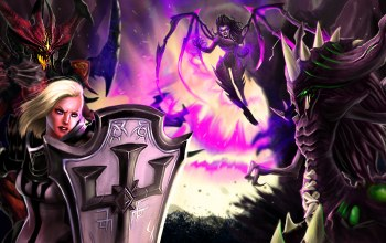 starcraft,Crusader of Zakarum,zagara,Crusader,heroes of the storm,Lord of Terror,johanna,Broodmother of the Swarm