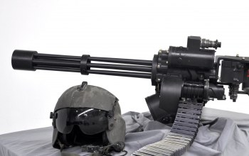 helmet,minigun,weapon,gun,M134
