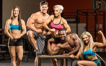 muscles,poses,get stronger,bodybuilders,group