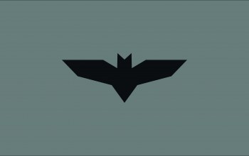 Justice league,Bat,minimalism