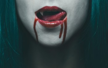 blood,tongue,vampire,woman,lips