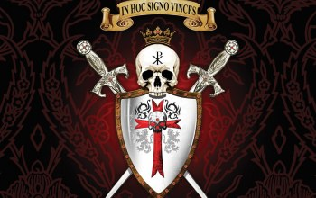 by this sign you will conquer,PX,brasao,sigil,Motto of the first christians,seal,Latin,cross,monogram,Skull,In Hoc Signo Vinces,sword,templars,shield,crown,blade,templar,Christogram,Constantine