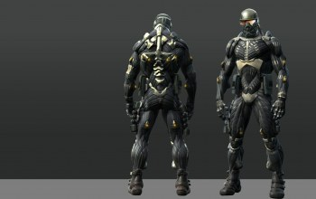 nomad,Crysis,suit,strong,powerful,Crysis 1,muscular,nanosuit,by thyrring,game