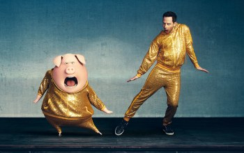 cinema,film,Music,animated film,movie,pig,yellow,Sing,animated movie