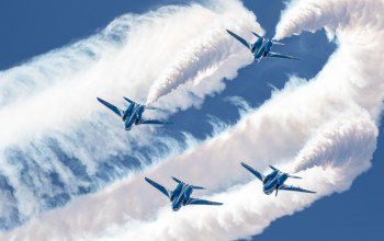 шоу,группа,blue impulse,пилотажная,Kawasaki t-4