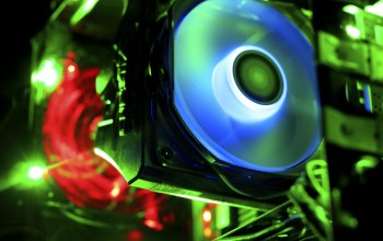 computer,fan,lights,cooling