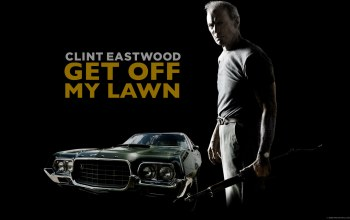 off,get,gran,lawn,eastwood,clint