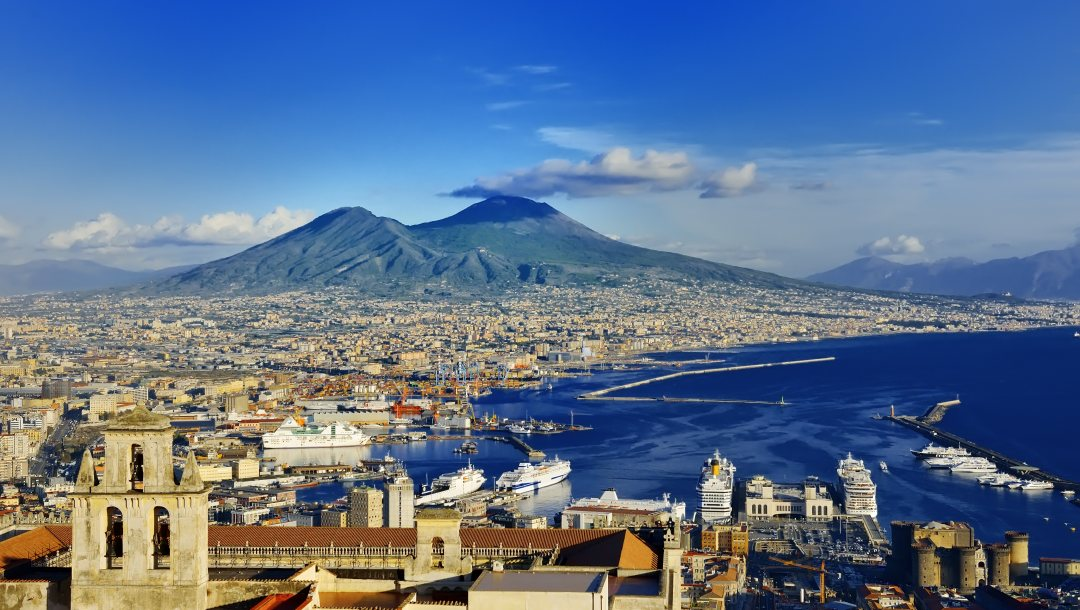 europe,Неаполь,view,coast,italy,Cityscape,Naples,travel