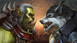 illustration,Battle for Azeroth,warcraft,Battle For Azeroth Fanart: Saurfang vs Greymane,арт,characters,World of WarCraft,фанарт,Kyle Herring,by Kyle Herring,game art,близзард,Saurfang vs Greymane,Saurfang,greymane