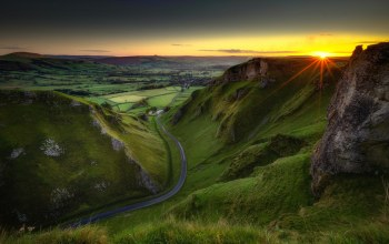 Winnats Pass,Peak district