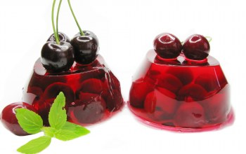 cherry,Jelly,желе,Вишня