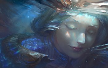 Lux,Вода,league of legends,water,elementalist