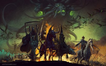Фантастика,конец света,Четыре всадника Апокалипсиса,Four Horsemen of the Apocalypse