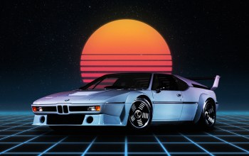 Bmw m1,неон,BMW-M1,synthwave,Synth pop,БМВ М1,Bmw,Синти-поп,synthpop,ночь,Фантастика,Synth,Darkwave,Retrowave