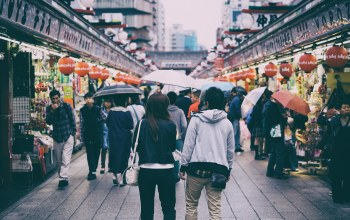 people,Japan,Market,tokyo,urban scene,everyday life,Cityscape,rainy