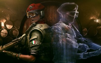 Tom Clancy`s Rainbow Six Siege,парни