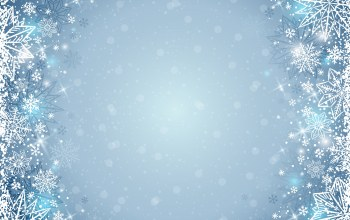background,winter,snowflakes,снежинки