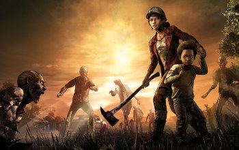 топор,The Walking Dead: The Final Season,the walking dead,ситуация,Клементина,Clementine,The Final Season,telltale games,выжившие