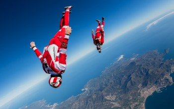 headdown,Will Penny,freefly,flying,training,skydiving,freestyle,skydivers,Yohann Aby,freeflying,Extreme Sport