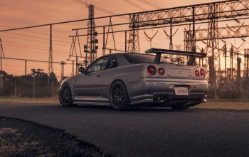 car,rear,skyline,sport