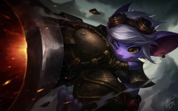 Yordle Gunner,league of legends,Tristana