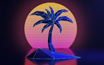 неон,Retrowave,Synth,Synth pop,музыка,synthpop,Darkwave,Пальма,synthwave