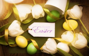Easter,tender,happy,decoration,spring,eggs,wood,tulips