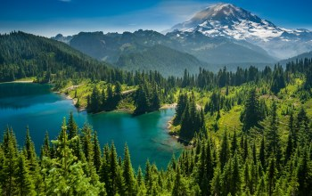 каскадные горы,eunice lake,Озеро Юнис,Гора Рейнир,Mount rainier,штат вашингтон,washington state,cascade range