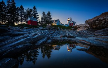 pemaquid point lighthouse,бристоль,скалы,bristol,мэн,maine,Вода,маяк
