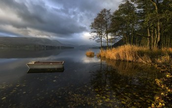 Autumnal Light,Pooley Bridge,Ullswater,lake district