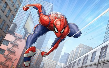 ps4,insomniac games,Marvel comics,patrickbrown