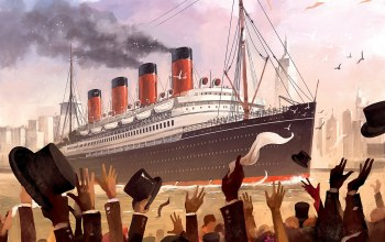 "Dominik Mayer,illustration,рисунок,люди,""Transatlantic"",Titanic,Transatlantic Boardgame Illustrations,by Dominik Mayer,game art,RMS Titanic,""Transatlantic"",Transatlantic Boardgame,арт,арт"
