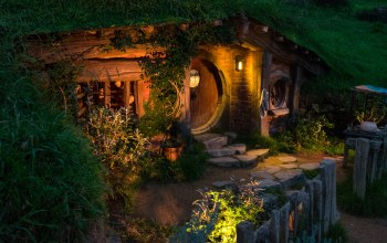 Hobbit House,Matamata,Новая Зеландия,Matamata