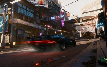 Cyberpunk 2077,E3 2018,‎CD Projekt RED,future,car