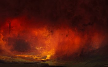 смерть,afterdeath,by Francesco Lorenzetti,дьявол,ad,Francesco Lorenzetti,ogony,Hellmouth,дым