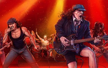rock,rok,Michal Dziekan,Ac/dc,рисунок,Slaski stadium illustrations,igra,by Michal Dziekan,Rock n roll,музыка,арт