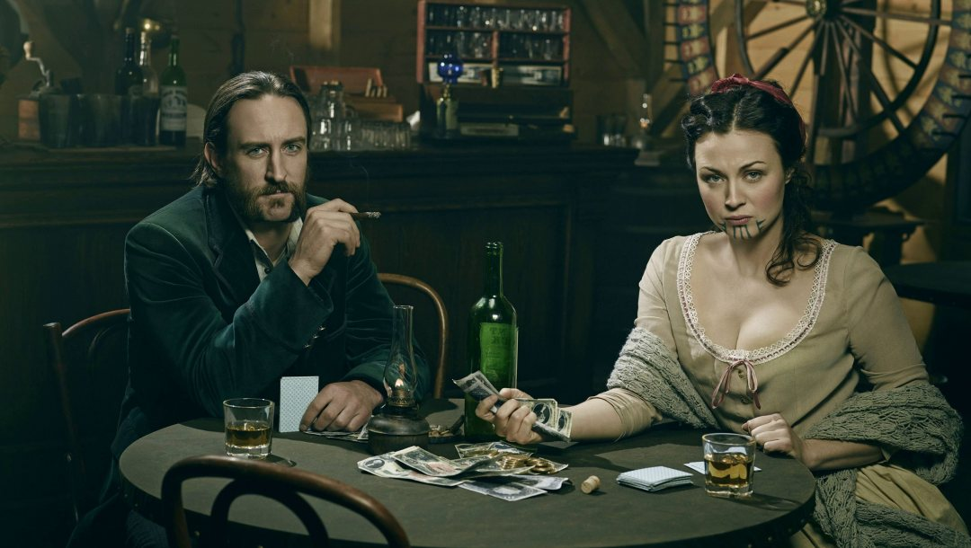 casino,Eva,whiskey,Hell on Wheels,movie,series,money,Mickey McGinnes
