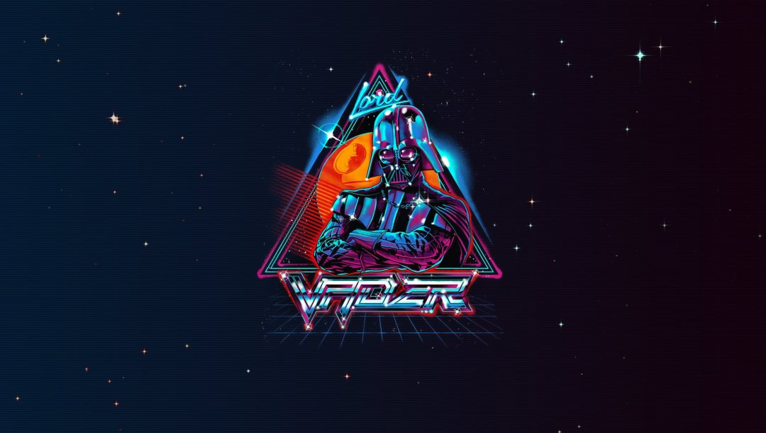 vader,Kosmos,Синтвейв,неон,New Retro Wave,лорд,Lord Vader,Дарт вэйдер,#минимализм,StarWars is coming,Futuresynth,Retrowave,Synth,synthwave,Star Wars,Outrun,Darth Vader,Ретровейв